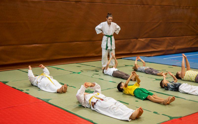 Judo Allenamento per bambini a Riva del Garda