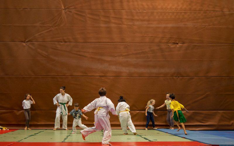 Judo Bambini dell'asilo a Riva del Garda