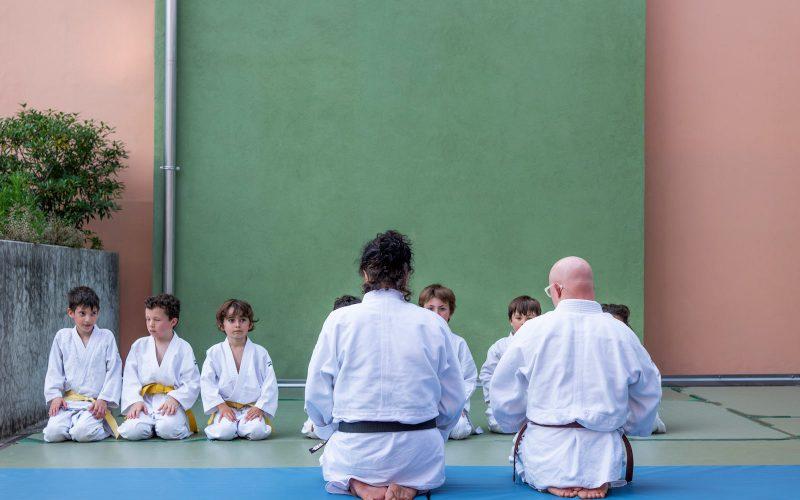 Judo Bambini con Maria Torboli a Riva del Garda