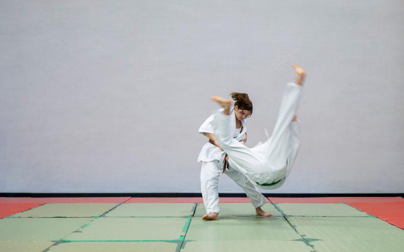 Judo Combattimento Cintura Nera