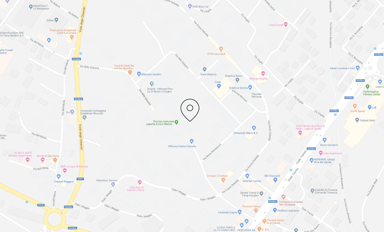 Judo Star Riva del Garda Palestra Mappa