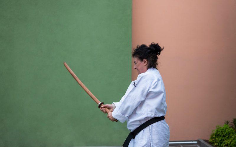 Maria Torboli insegna Judo per Donne a Riva del Garda
